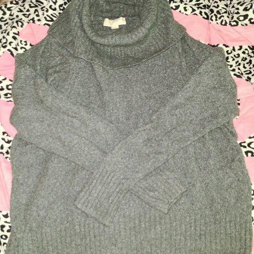 Michael Kors Grey Cowel Neck Sweater