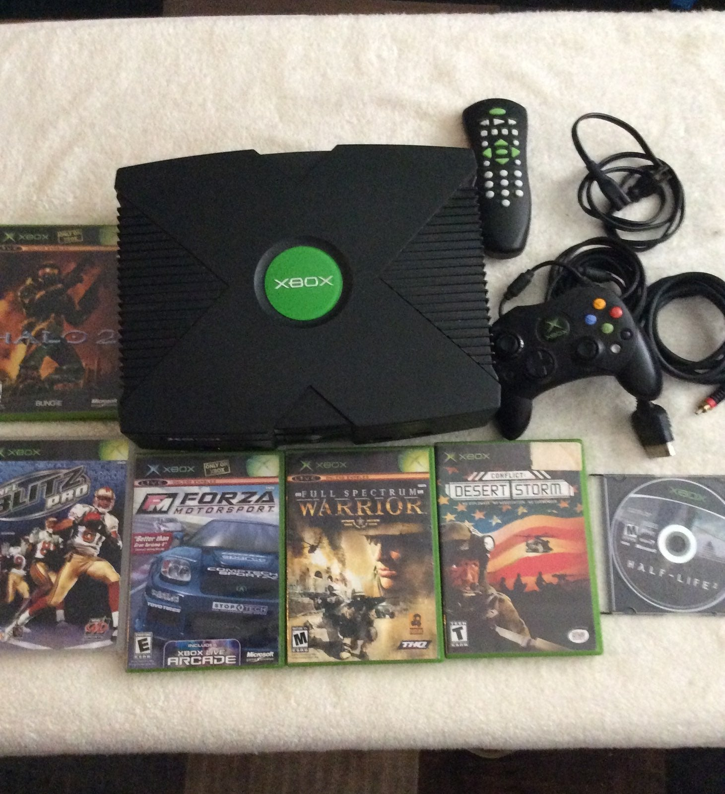 Xbox original console Lot