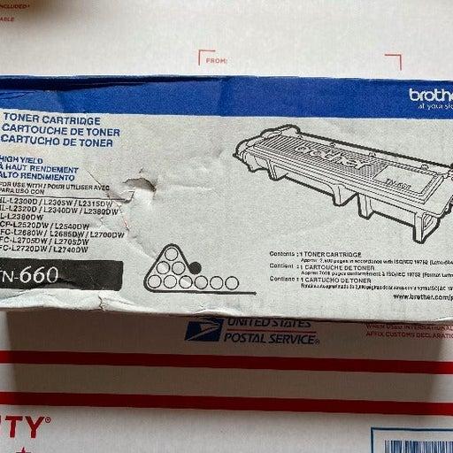 Brother TN-660 Black Ink Cartridge - NEW IN BOX