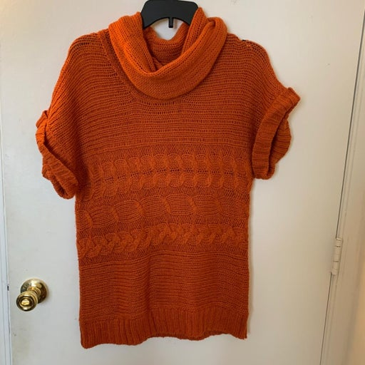 Michael Kors Cable Knit Cowl Neck Sweate