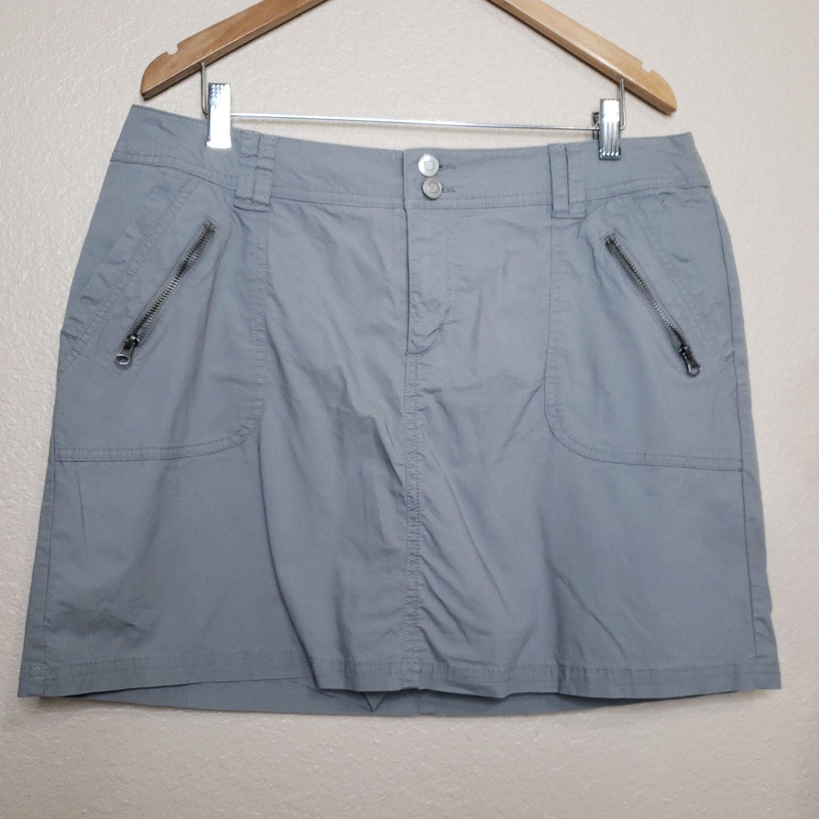 Lane Bryant Grey Skort size 14