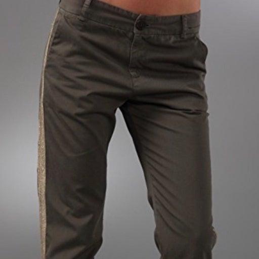 Current   Elliott Army Green Trousers