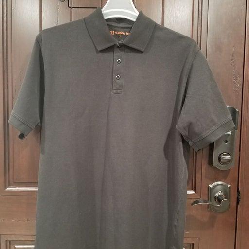 5.11 Tactical Polo Shirt Men Large Black
