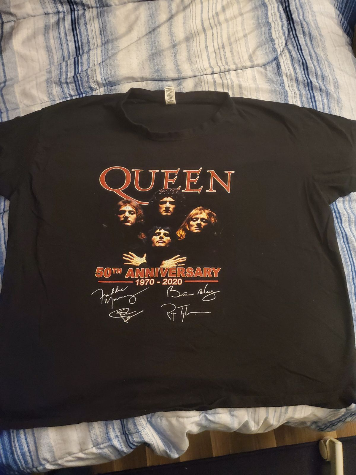 Queen 50th Anniversary shirt