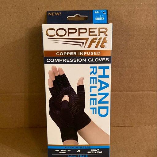 Copper fit compression gloves