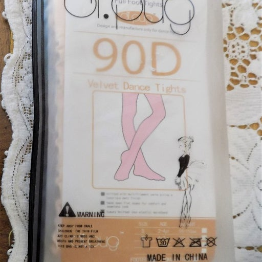 DANCE TIGHTS GIRLS SIZE 7-10 PINK COLOR