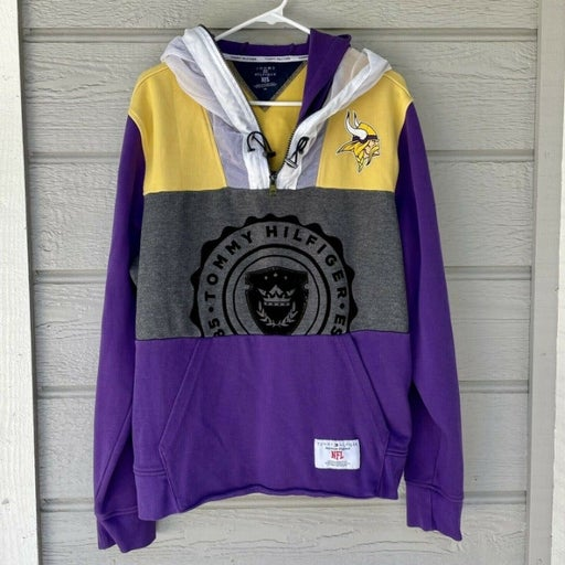Tommy Hilfiger NFL Minnesota Vikings Hoodie Sweatshirt