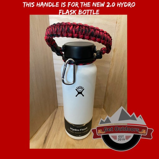 Paracord Handle for 2.0 Hydro Flask.