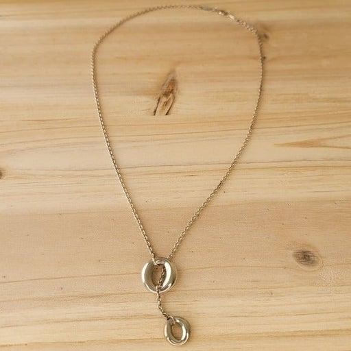 Tiffany & Co. Elsa Peretti Sevillana Lariat Chain Necklace Sterling Retired
