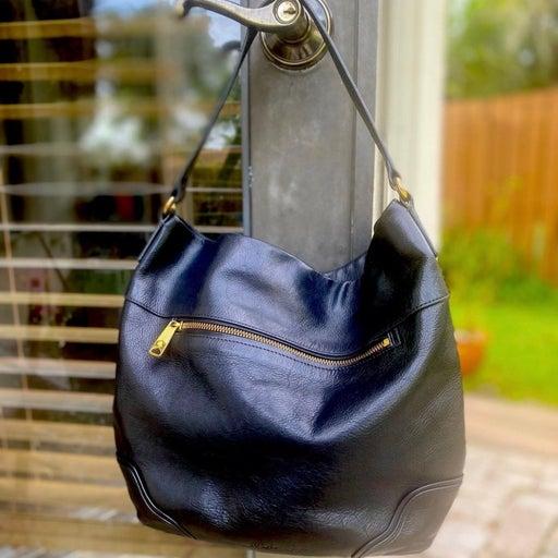 Ralph Lauren in black soft leather