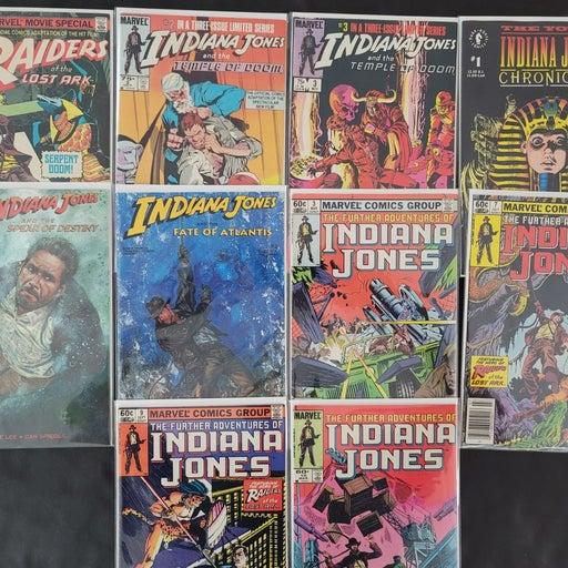 Indiana Jones Assorted Comic Lot