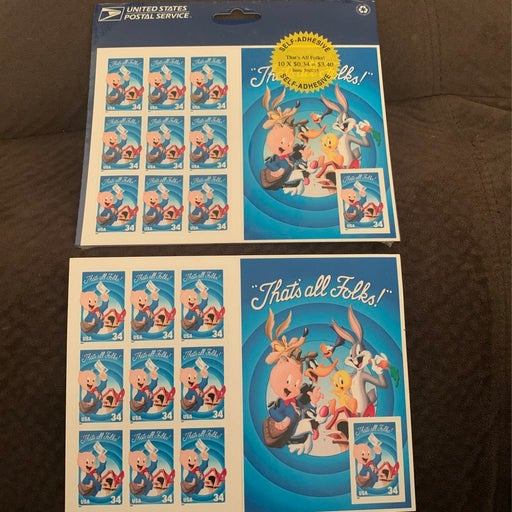 Looney Tunes Postage stamps