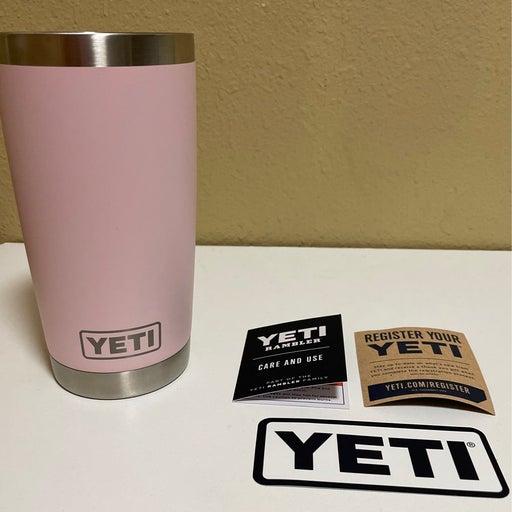 Yeti Ice Pink Tumbler 20oz Cup (no lid)