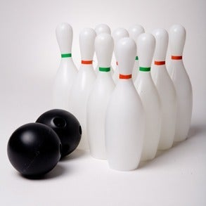 Bowling Set Game 12 Pc Game Toy Set
