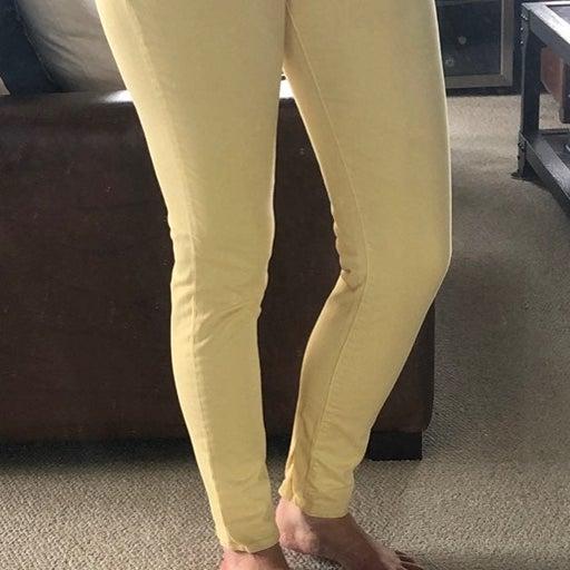 Blue Essence Yellow Skinny Jeans