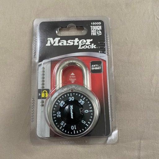 Master lock number combo keyless lock