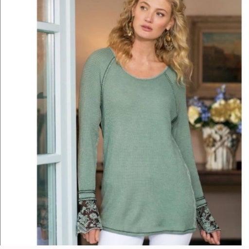 Soft Surroundings Waffle Knit PXS Shirt