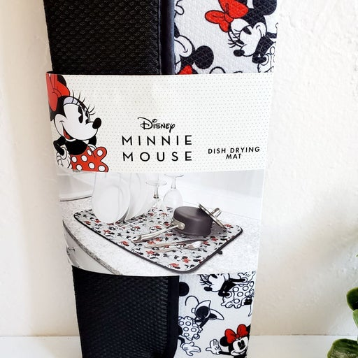 Nwt Disney Minnie Mouse Drying Mat + gif