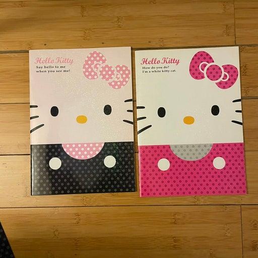 Hello Kitty notebook & folder