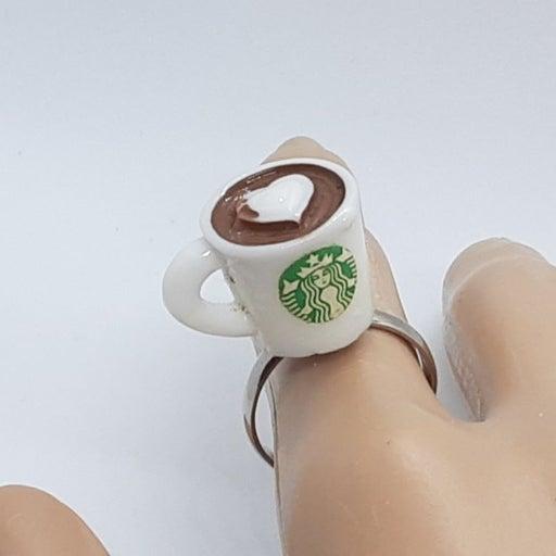 Starbucks Inspired Coffee Ring