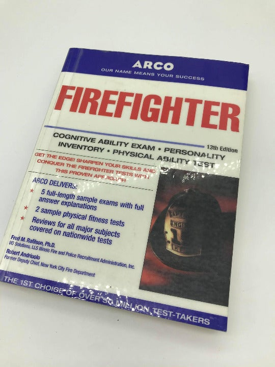 ARCO FIREFIGHTER TEST PREP (13TH EDITION