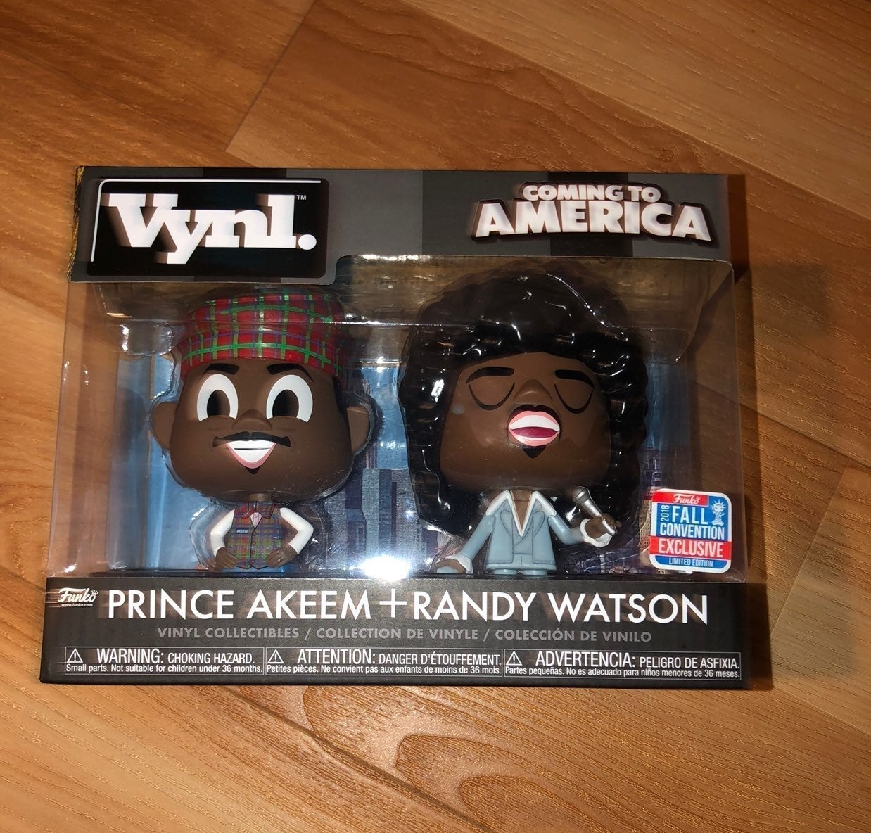 Funko Coming to America Vynl Figures
