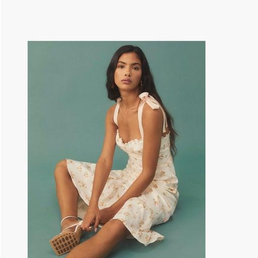 Gorgeous linen dress-size 10