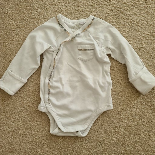 Burberry baby onesie