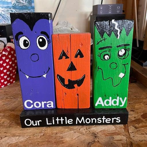 Personalized Halloween decoration
