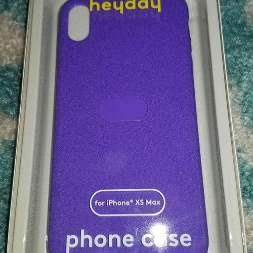 Heyday purple iphone xs max case