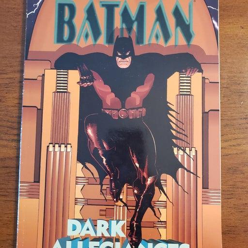 Batman Dark Allegiances Dc comics elsewo