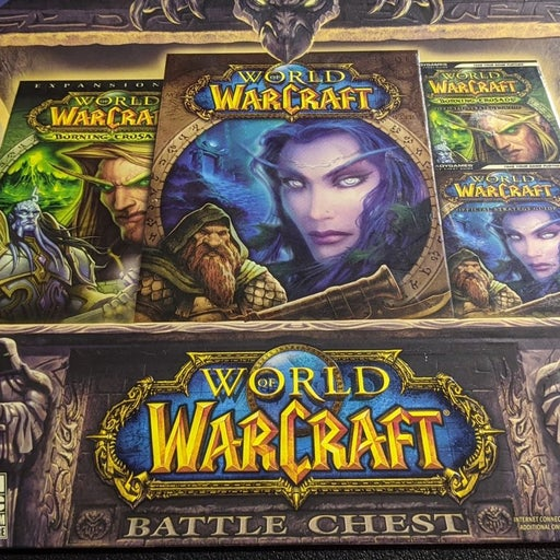 Blizzard PC Game Disc Bundle