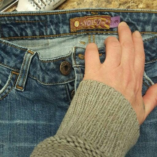 Flare leg jeans volcom