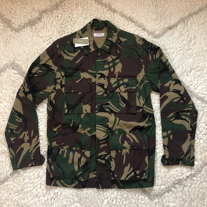 J Crew Wallace Barnes Camo Shirt Jacket
