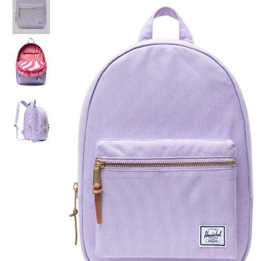 Herschel Supply Backpack Bookbag Lavender