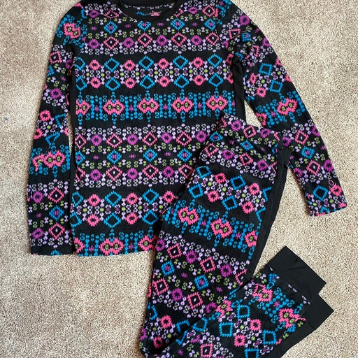 Girls cuddl duds fleece outfit large 10-12