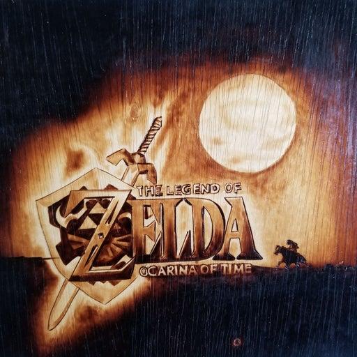 Nintendo Zelda Ocarina of Time Portrait