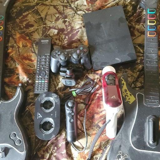 Ps2 guitar ps3 move 1 ps3 controller 1 b