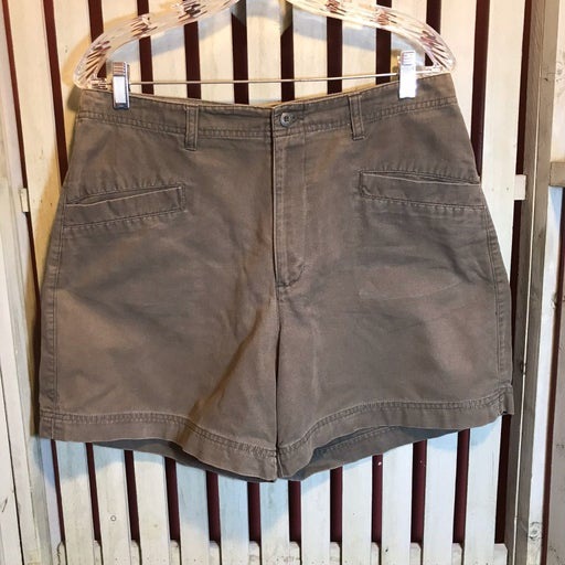 khaki shorts size 12 ~item #30019