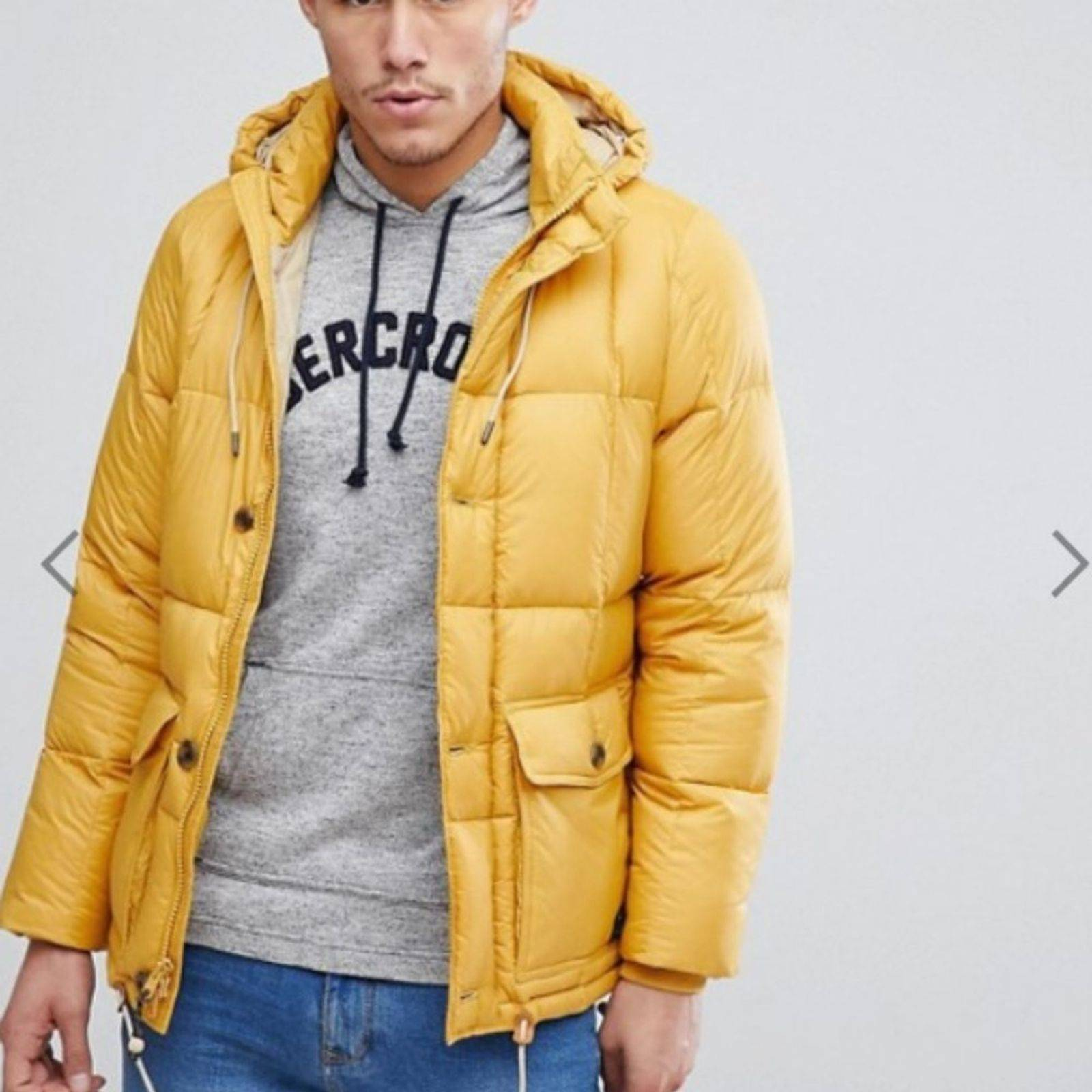 Abercrombie & Fitch Puffer Jacket Hood M