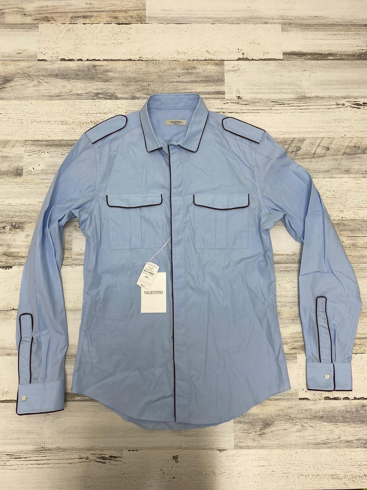 $950 valentino army style shirt