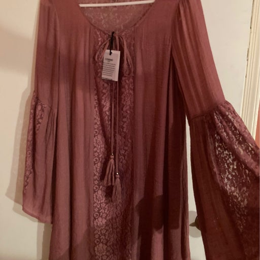 Women's Comme Bell Sleeved Dress Size S