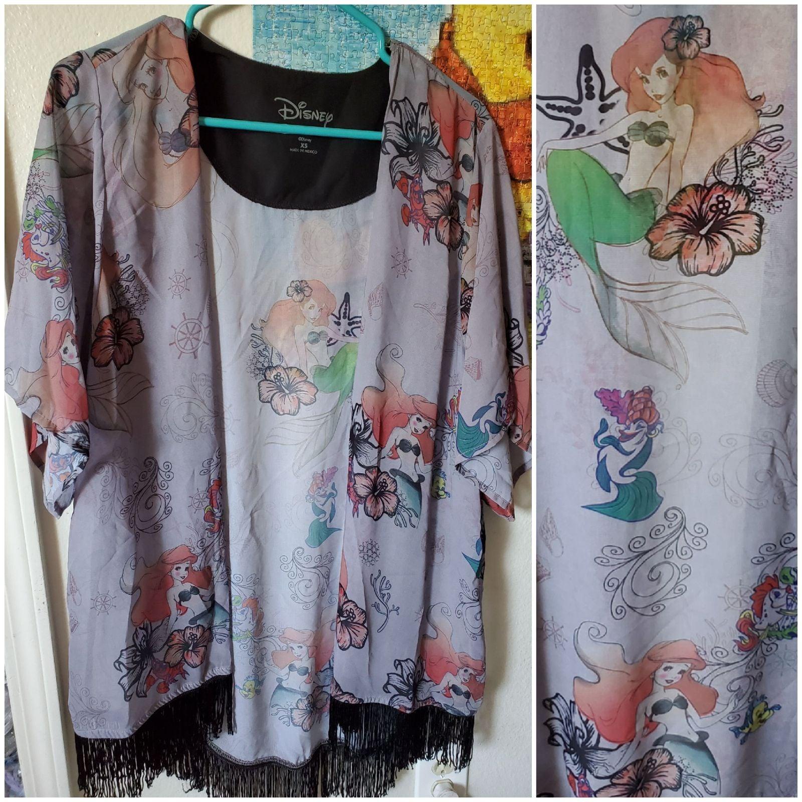 Disney The Little Mermaid Ariel Kimono