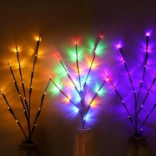 New WHITE 20 LED Willo Branch Light