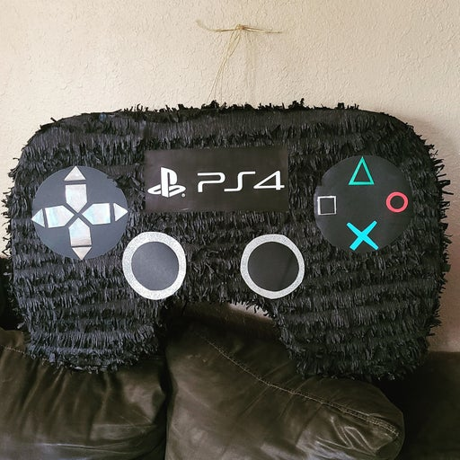 Ps4 controller inspired pinata