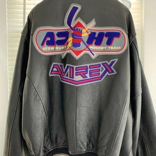 Vintage Avirex Leather Jacket *RARE*