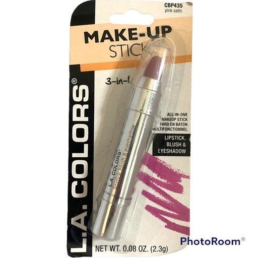 New/Sealed LA Colors 3-In-1 Make-Up Stick #CBP435 Pink