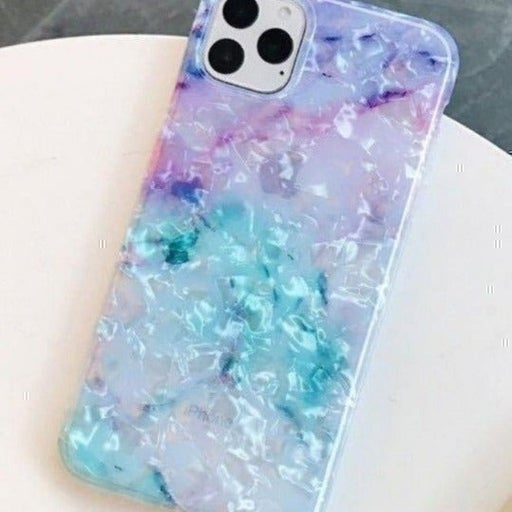 New iPhone 11 PRO Iridescent Blue Marble