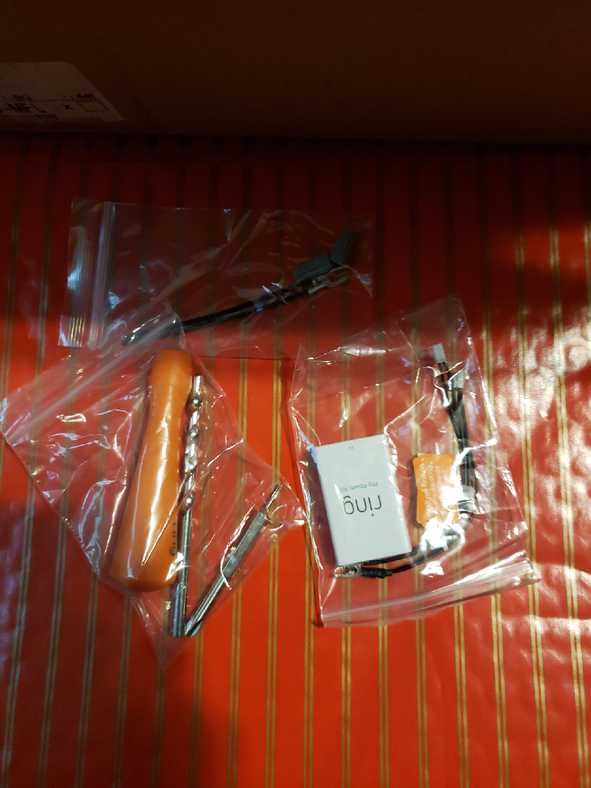 Ring accesories kit