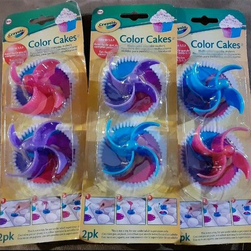 Crayola Color Cakes makers